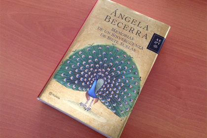 libro ágela becerra Confitería Rufino Aracena
