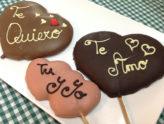 corazones de chocolate San Valentín Confitería Rufino Aracena