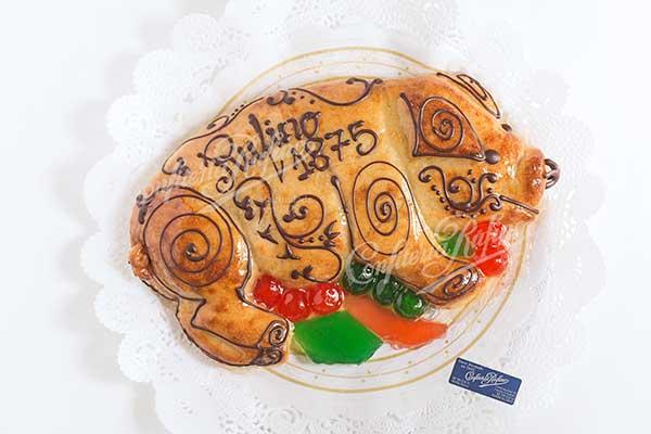 cerdo de mazapán artesano Navidad Confiteria Rufino Aracena