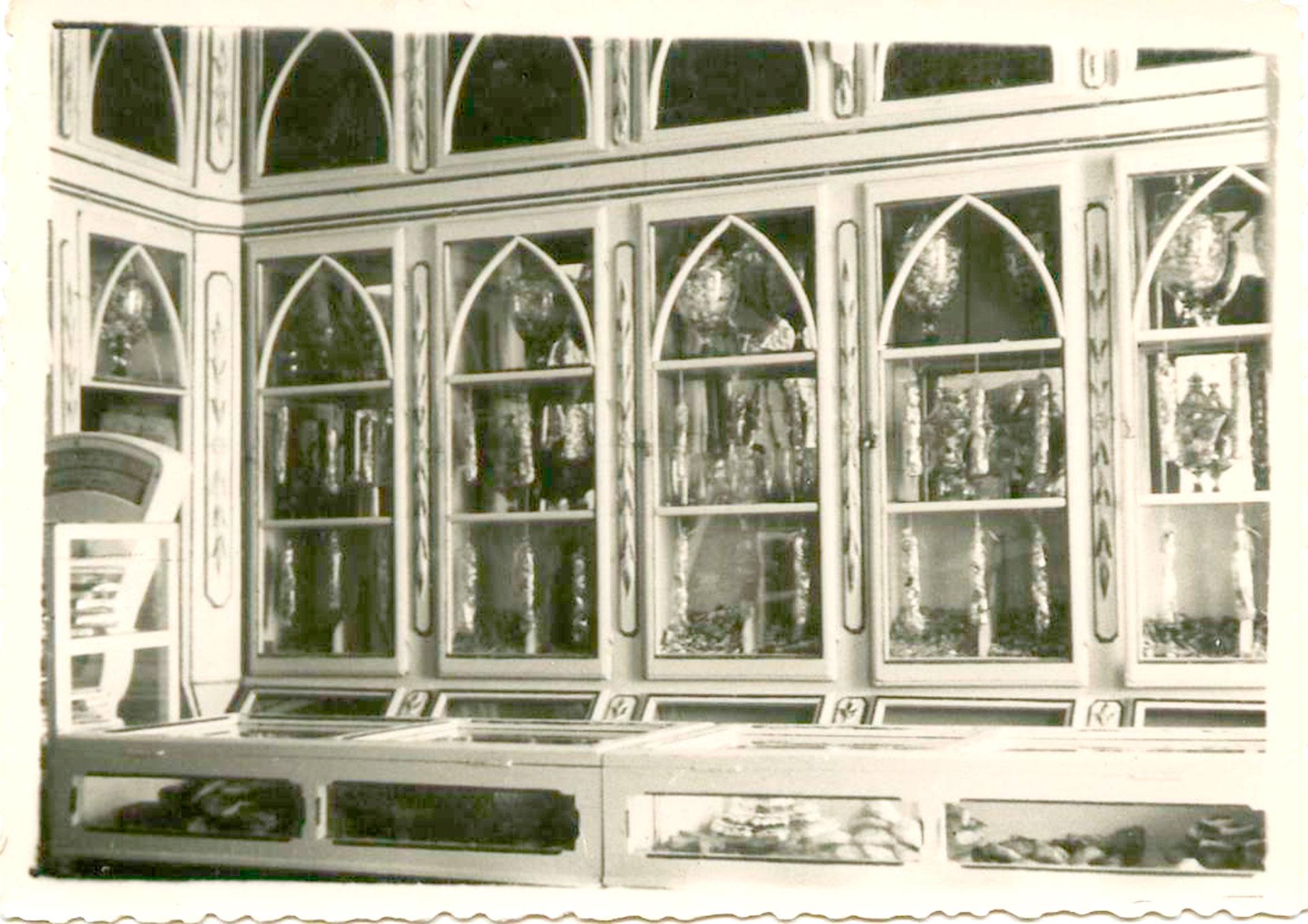 vitrina confitería rufino aracena
