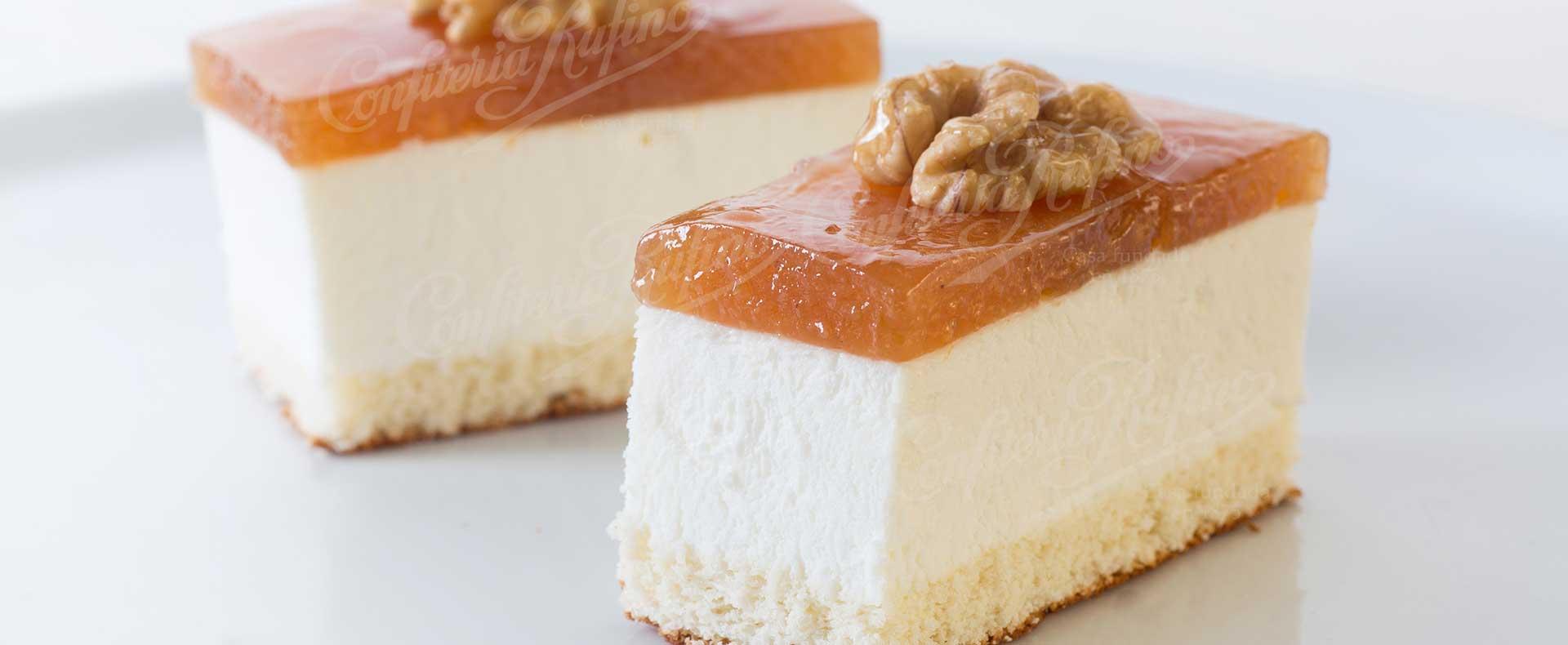 pastel de queso y dulce de membrillo artesano Confiteria Rufino Aracena