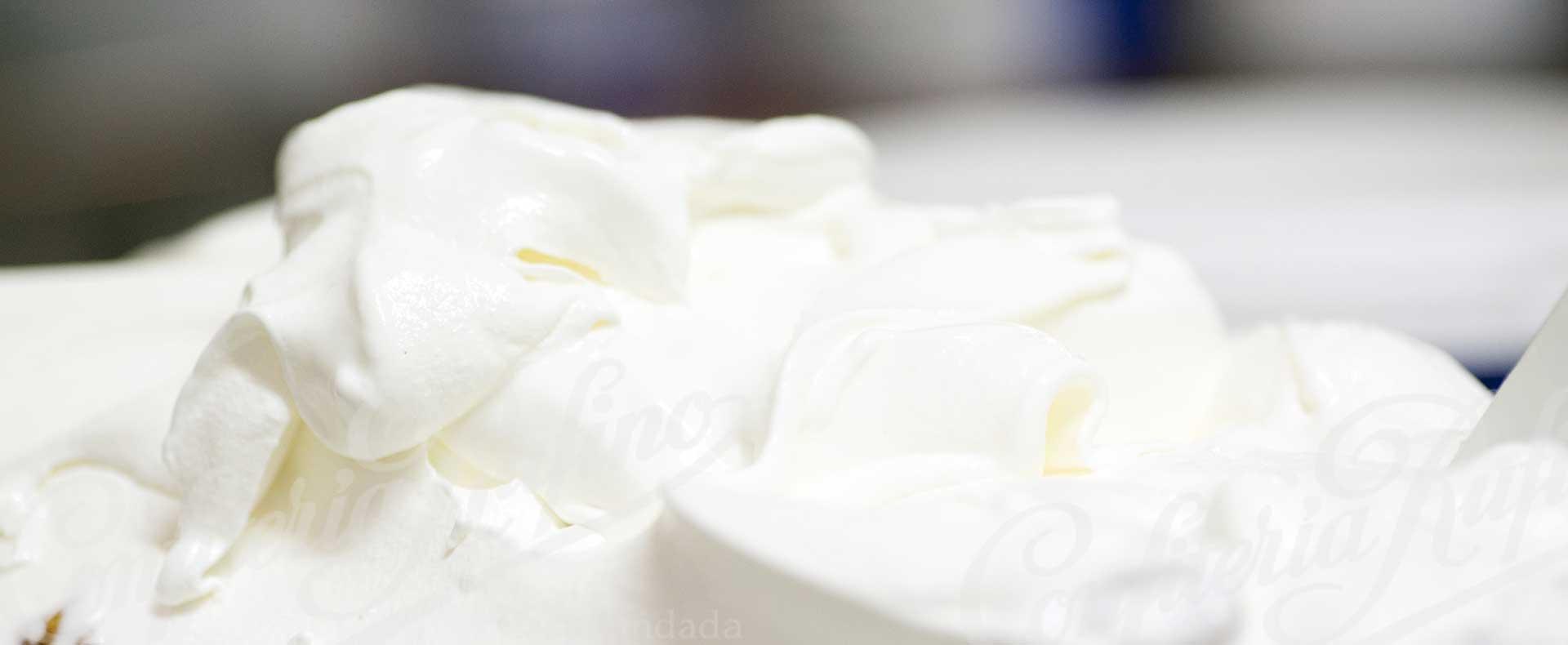 Helado de limón artesano Confiteria Rufino Aracena