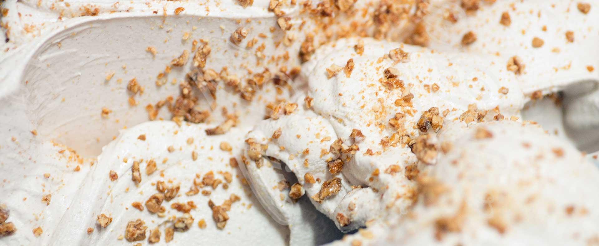 helado de turrón artesano Confiteria Rufino Aracena