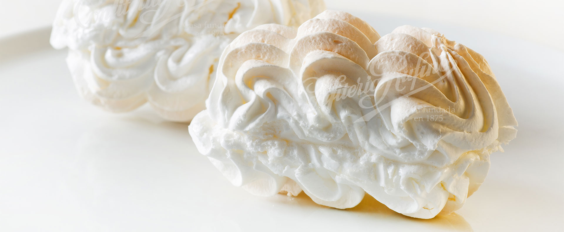 merengues de la Confiteria Rufino Aracena