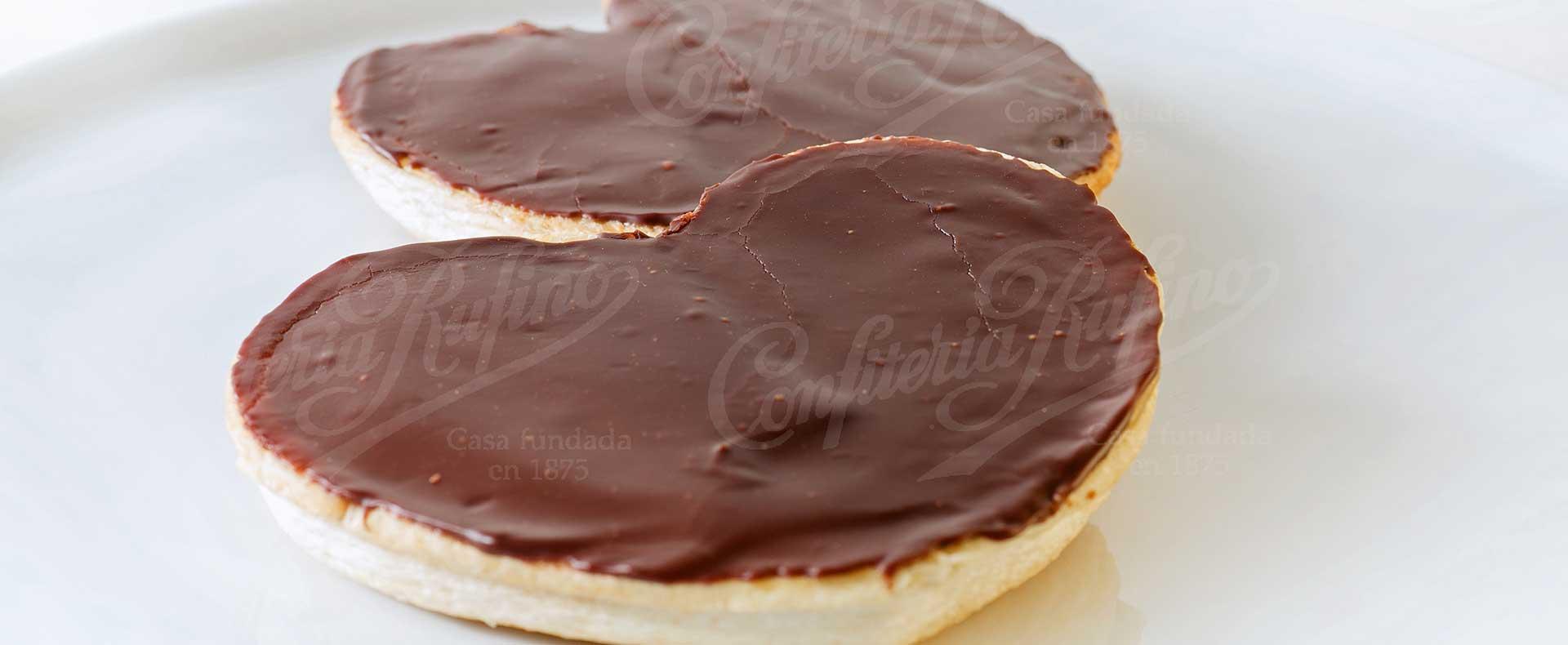 palmera de chocolate Confiteria Rufino Aracena