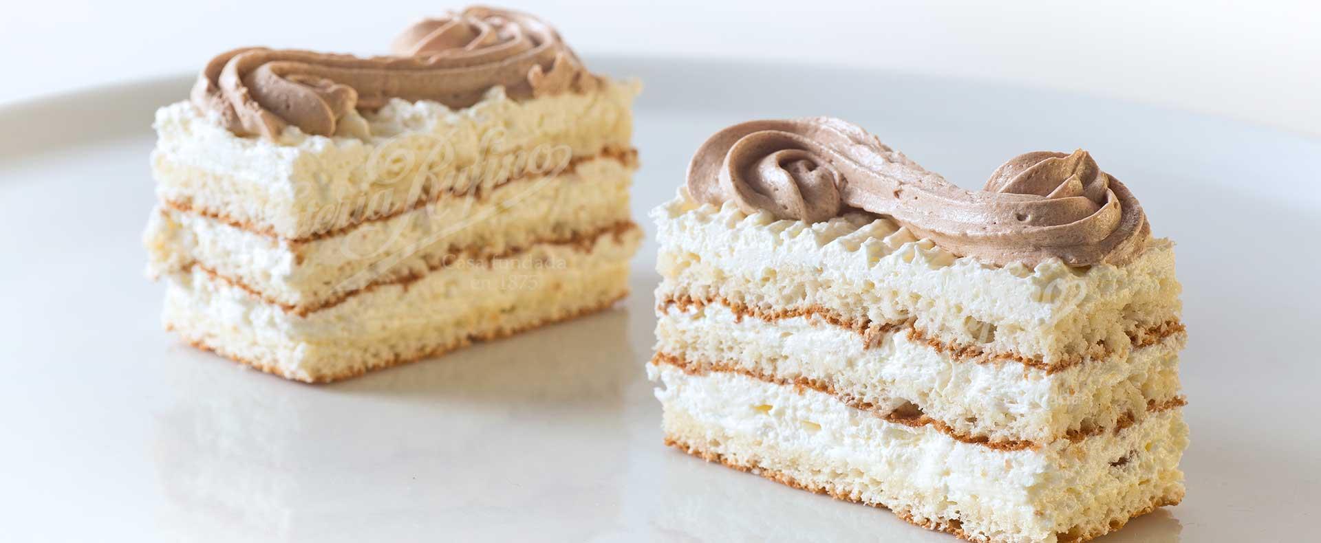 pastel de la S Confiteria Rufino Aracena