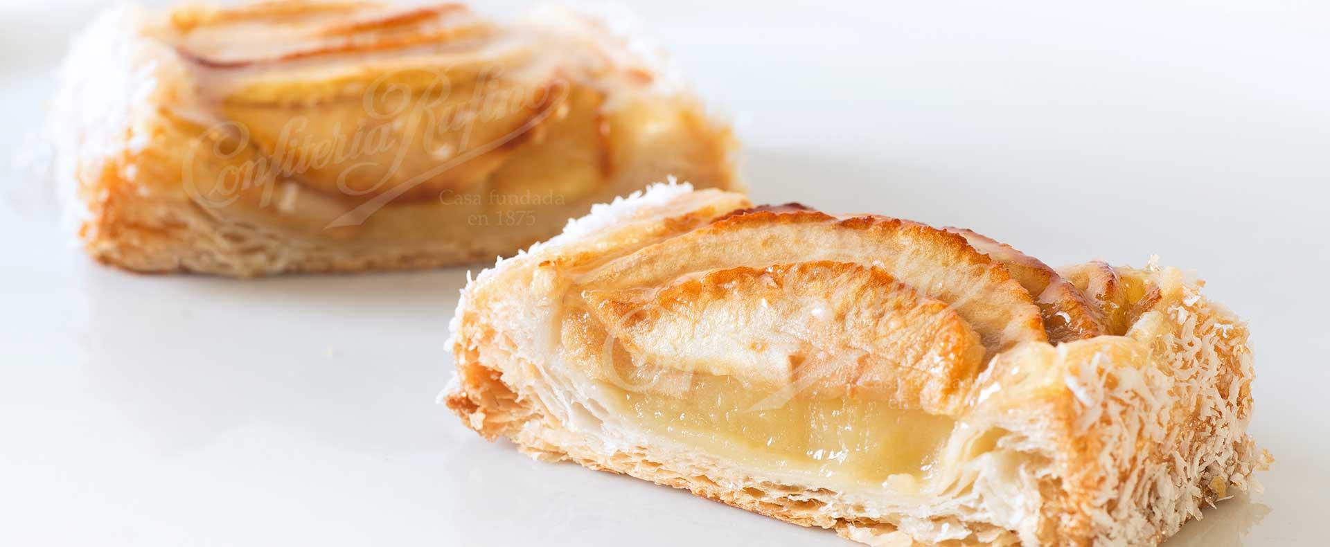 pastel artesano tarta de manzana Confiteria Rufino Aracena