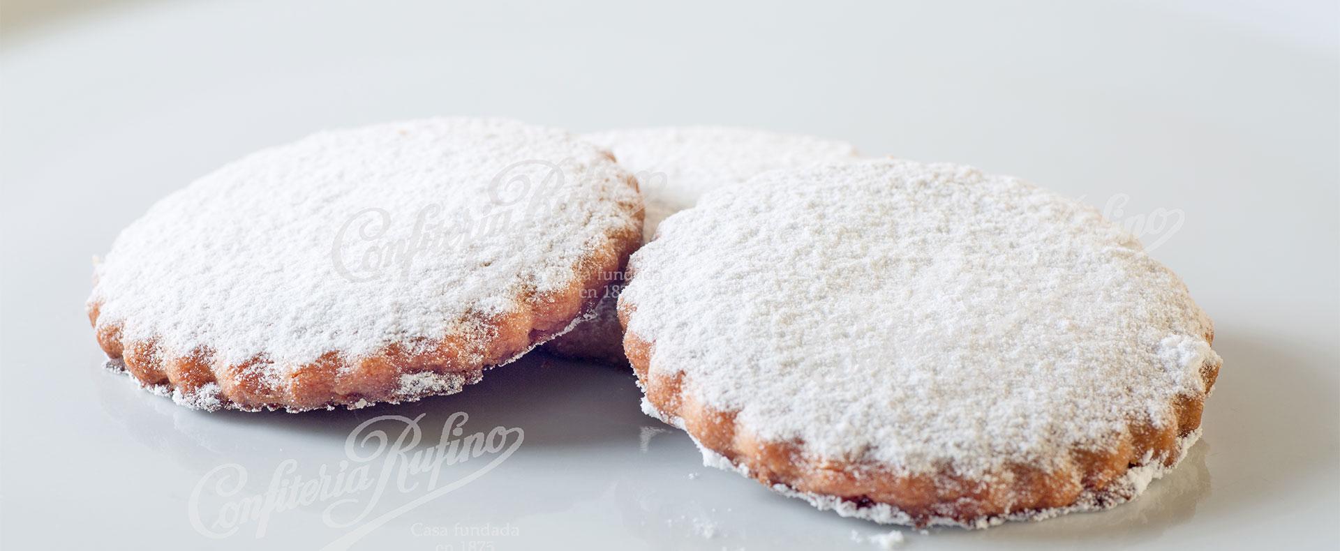 torta de polvorón Confitería Rufino Aracena