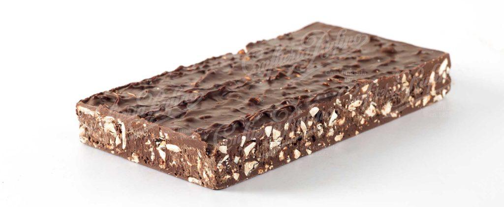 Turrón artesano de chocolate Confiteria Rufino Aracena