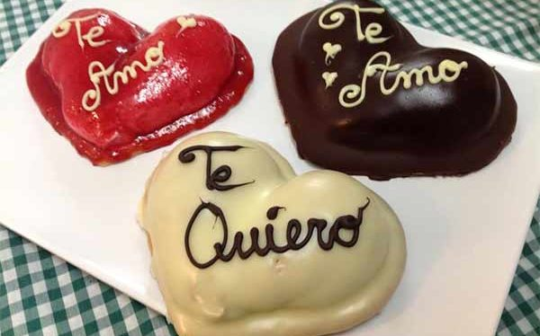 Dulces corazones para celebrar San Valentín. ¿Con cuál te quedas?