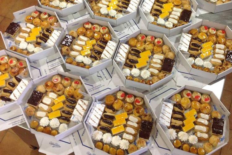 Pasteles pequeños, sabor de Confitería Rufino en formato reducido