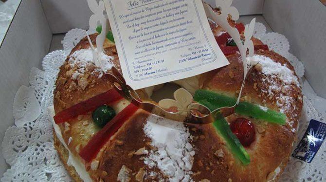 Roscón de Reyes de Confitería Rufino, el sabor de la Navidad de siempre